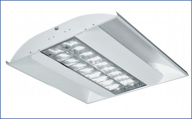 Встраиваемый растровый светильник C_ALDP