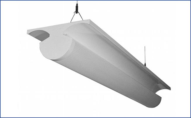 Подвесной/накладной светильник непрямого света EGO