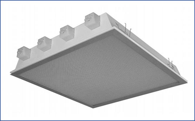 встраиваемый светильник с рассеивателем IK_IP54