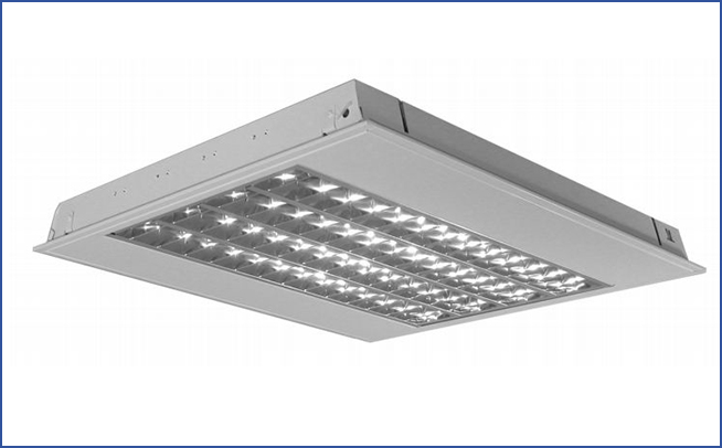 встраиваемый растровый светильник IT5