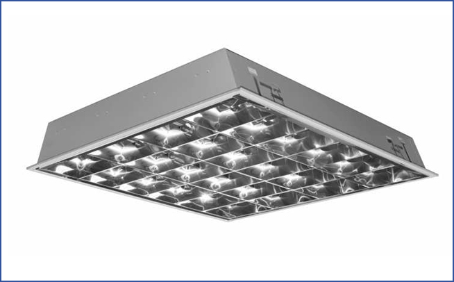 встраиваемый растровый светильник I ALDPV