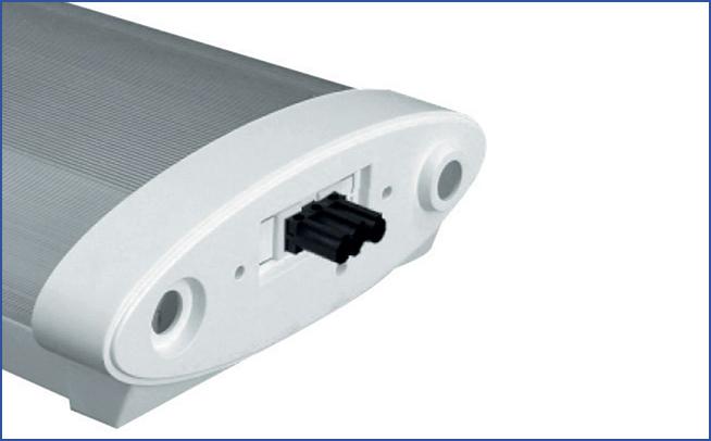 Накладной/подвесной светильник c рассеивателем для установки в линию KSP
