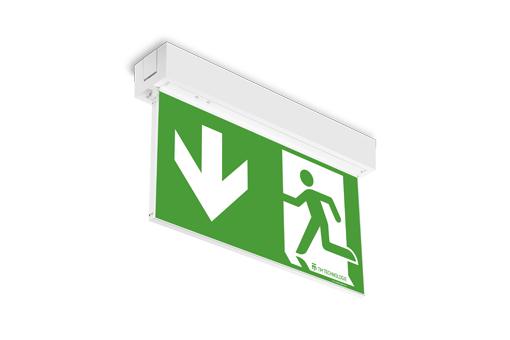 Cветодиодный накладной светильник эвакуационного освещения ONTEC AP