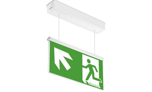 Cветодиодный накладной светильник эвакуационного освещения ONTEC AZ