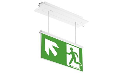 Cветодиодный встраиваемый светильник эвакуационного освещения ONTEC PZ