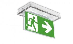 Cветильник аварийного и эвакуационного освещения ONTEC S (потолочный вариант)