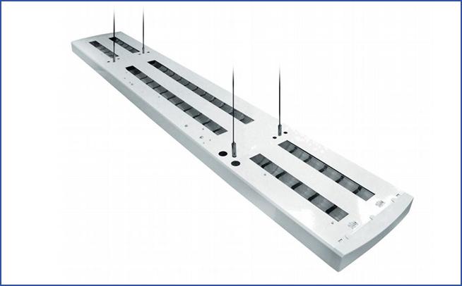подвесной светильник прямого\непрямого света SLIM ADLP Z