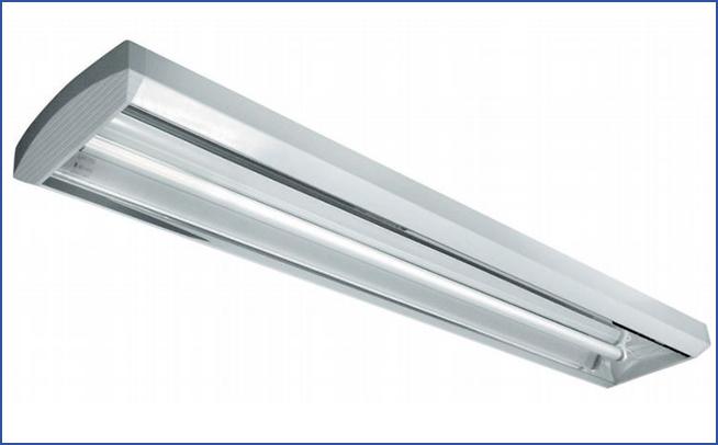 накладной светильник с ассиметрическим рефлектором SLIM AS