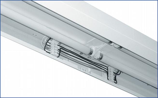 накладной\подвесной линейный светильник SLIM R