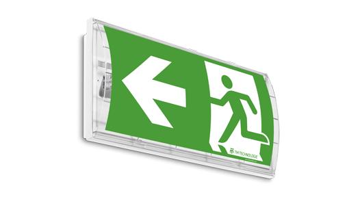 Односторонний светильник аварийного и эвакуационного освещения SMART 44