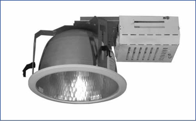 Металлический встраиваемый светильник направленного света SPMС