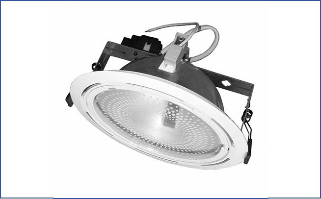Встраиваемый светильник направленного света SPME
