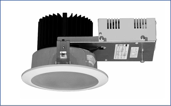 Металлический светодиодный встраиваемый светильник направленного света SPML