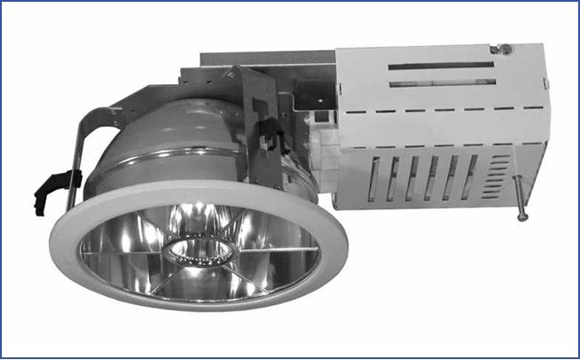 Металлический встраиваемый светильник направленного света SPMR