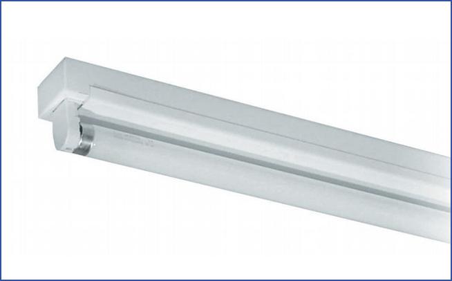 Промышленный светильник реечного типа для торговых и промышленных помещений TE